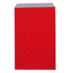1100 sachets papier rouge 16,5 x 28 cm