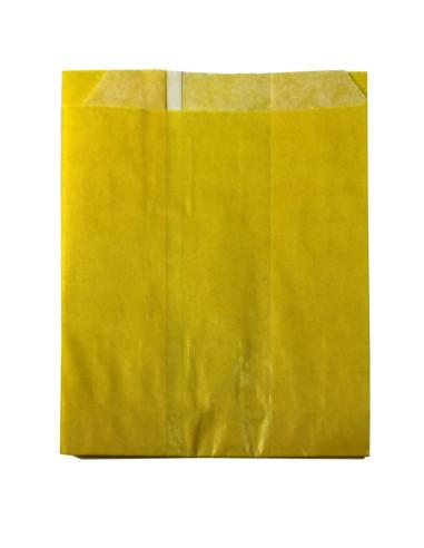 2500 Sachets kraft jaune 11 + 7 x 12