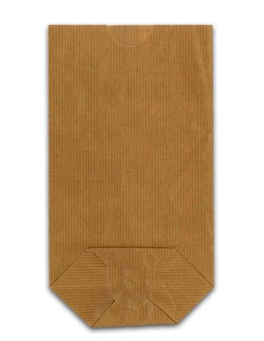 1000 Sacs écornés n°6 kraft brun doublé 500gr farine
