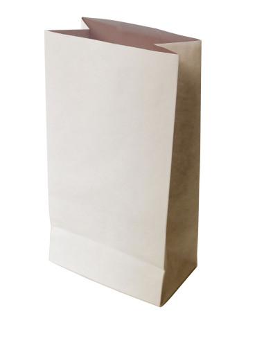150 Sacs SOS kraft blanc doublé 5kg farine 20+10x45