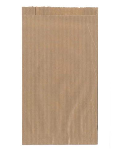 Sacs papier kraft 16 + 10 x 25 cm