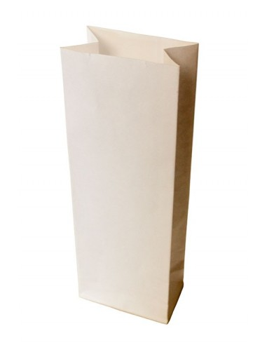 1000 Sacs SOS kraft blanc 500g farine 8+5x23 cm