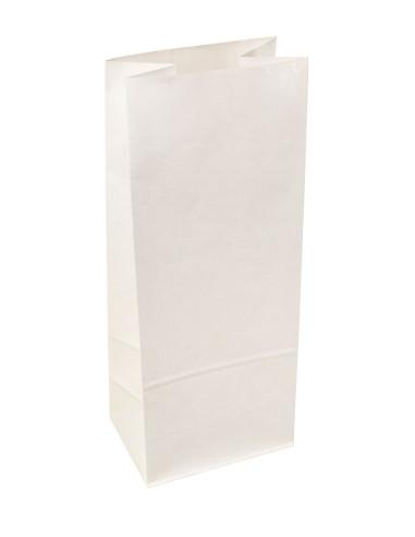 Sachets SOS kraft blanc doublé polypro 13 + 8 x 30 cm